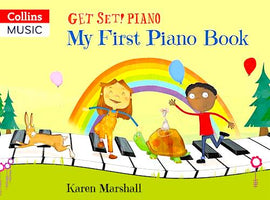 Get Set Piano My First Piano Book Karen Marshall 9780008353230