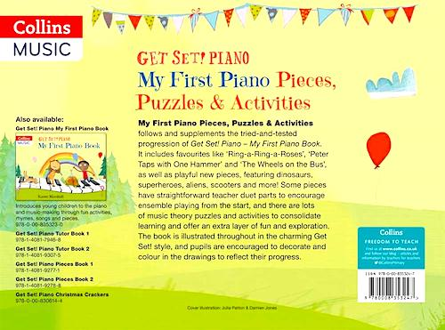 Get Set Piano My First Pieces and Activities Karen Marshall 9780008353247