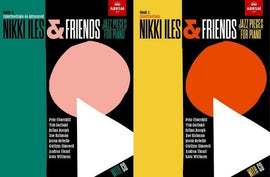 Nikki Iles & Friends Books 1 & 2 Pack 29 Original Jazz Piano Compositions Books