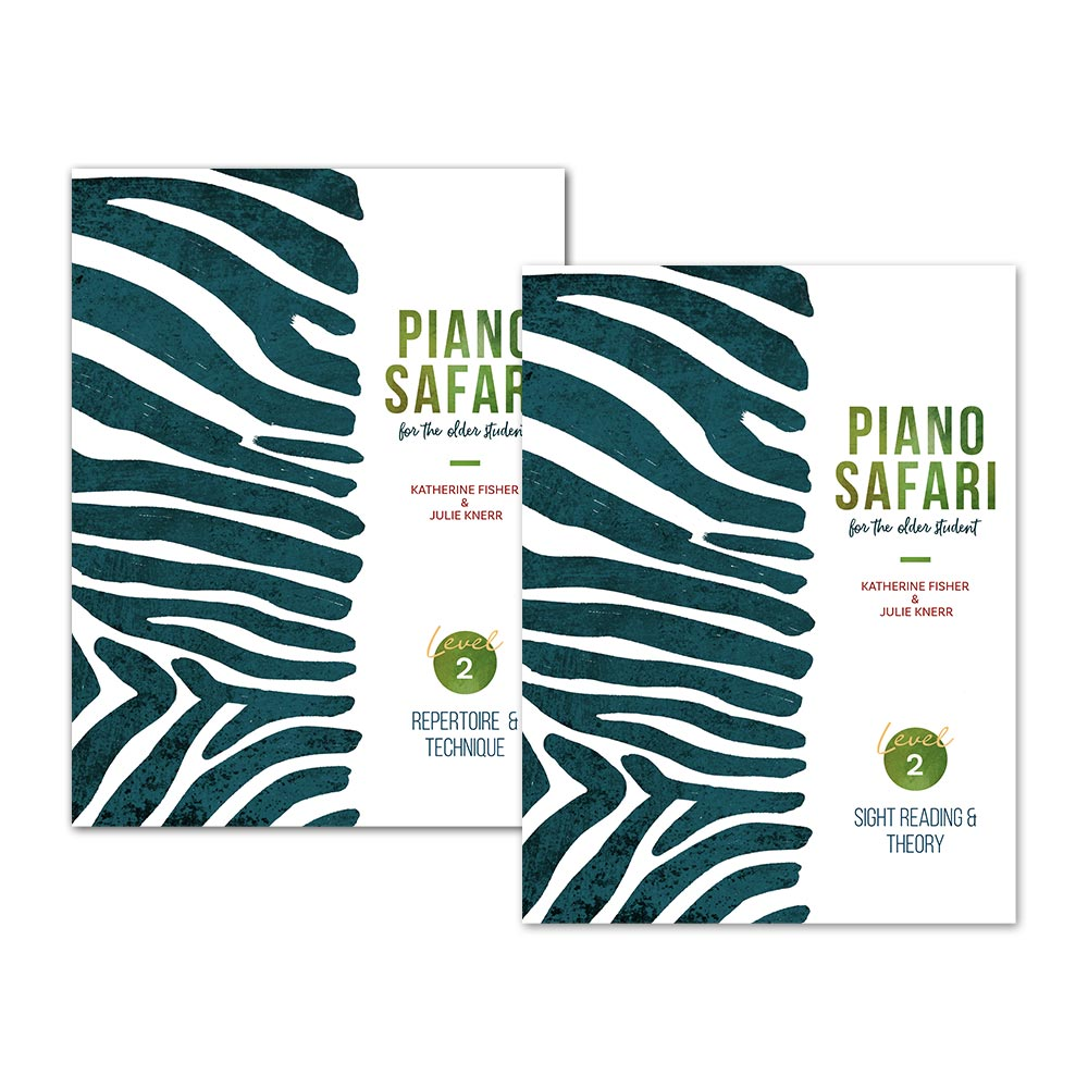 PIANO SAFARI OLDER STUDENT PACK LEVEL 2 9781470613228