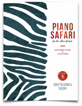PIANO SAFARI OLDER STUDENT 1 SIGHT READING & THEORY 9781470612573