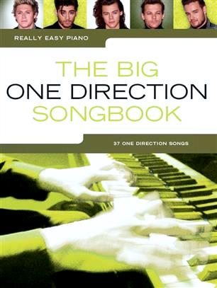 Really Easy Piano The Big One Direction Songbook 37 One Direction Songs