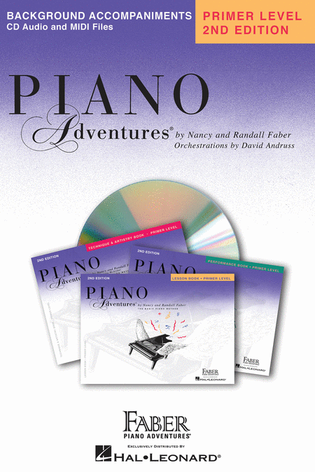 Piano Adventures Background Accompaniments CD Primer Level  HL00420068