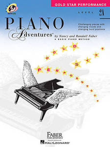 Piano Adventures Gold Star Performance 2A Music Tutor Book