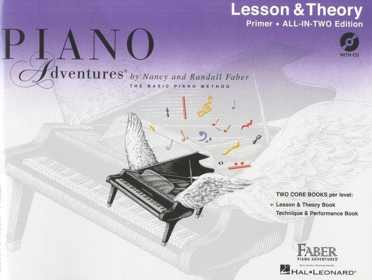 Piano Adventures Lesson and Theory Book + CD Primer Level  HL00119899