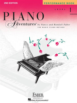 Piano Adventures Performance Book Level 1 9781616770808