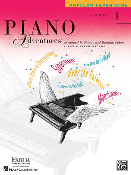 Piano Adventures Popular Repertoire Level 1, Nancy and Randall faber 9781616772574