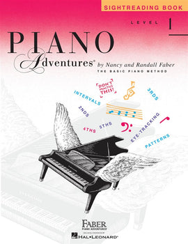 Piano Adventures, Sightreading Book, Level 1, 9781616776374