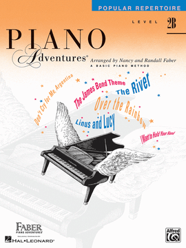 Piano Adventures, Popular Repertoire, Level 2B, 9781616772598