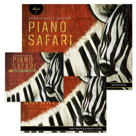 Piano Safari Level 1 Pack (2nd Edition 2018) Katherine Fisher Julie Knerr