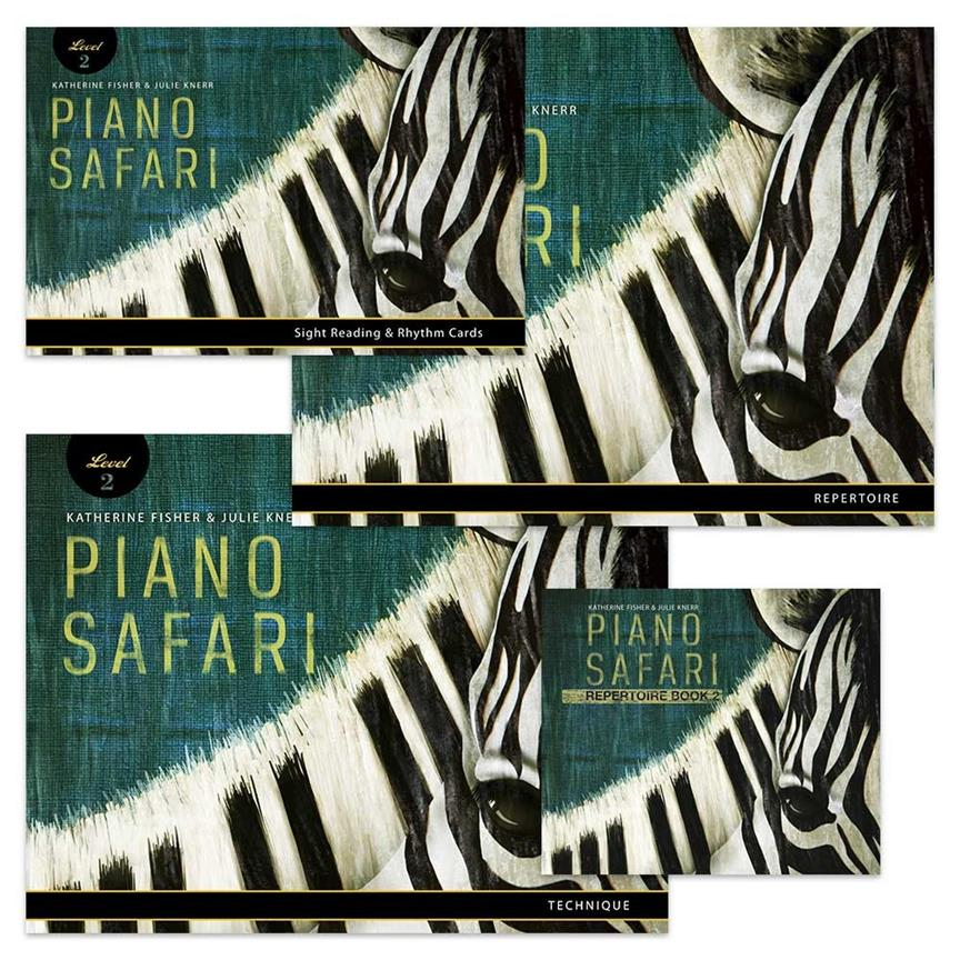 Piano Safari Level 2 Pack (2nd Edition) 9781470612030