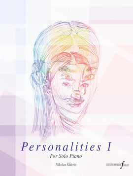 Personalities Part I Nikolas Sideris Piano Solos Editions Musica Ferrum