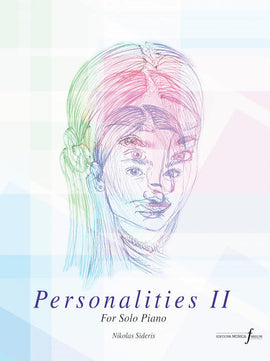 Personalities Part 2 Nikolas Sideris Piano Solos Editions Musica Ferrum