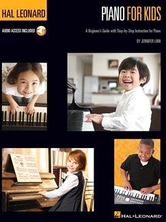 Hal Leonard Piano For Kids A Beginner's Guide with Step-by-Step Instructions