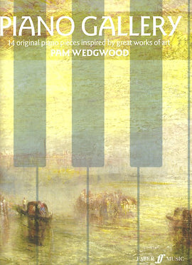 Piano Gallery 14 original piano pieces Pam Wedgwood 9780571540488