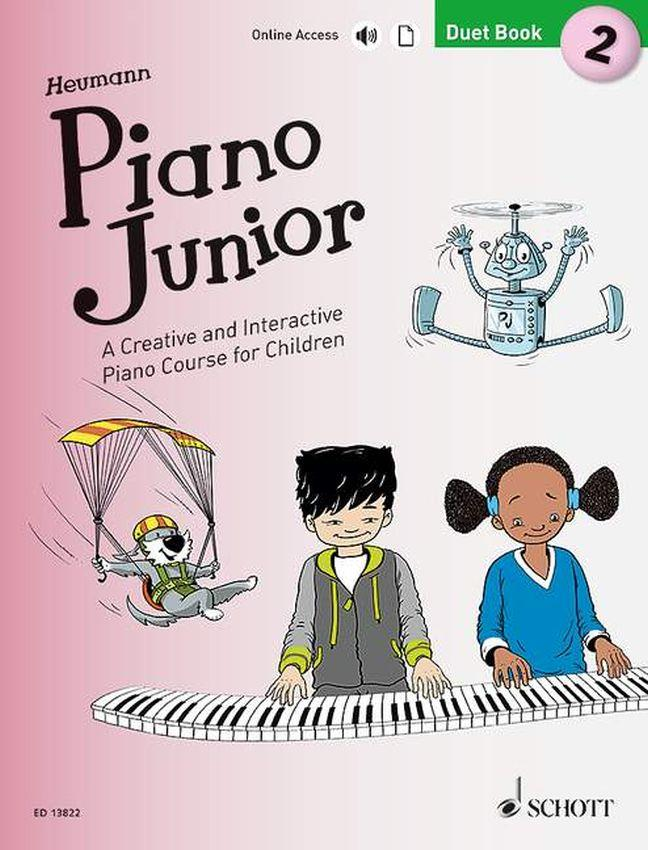 Piano Junior Duet Book 2 Heumann Schott  ED13822