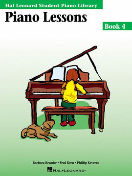 Piano Lessons Book Four Hal Leonard Student Piano Library HL00298026