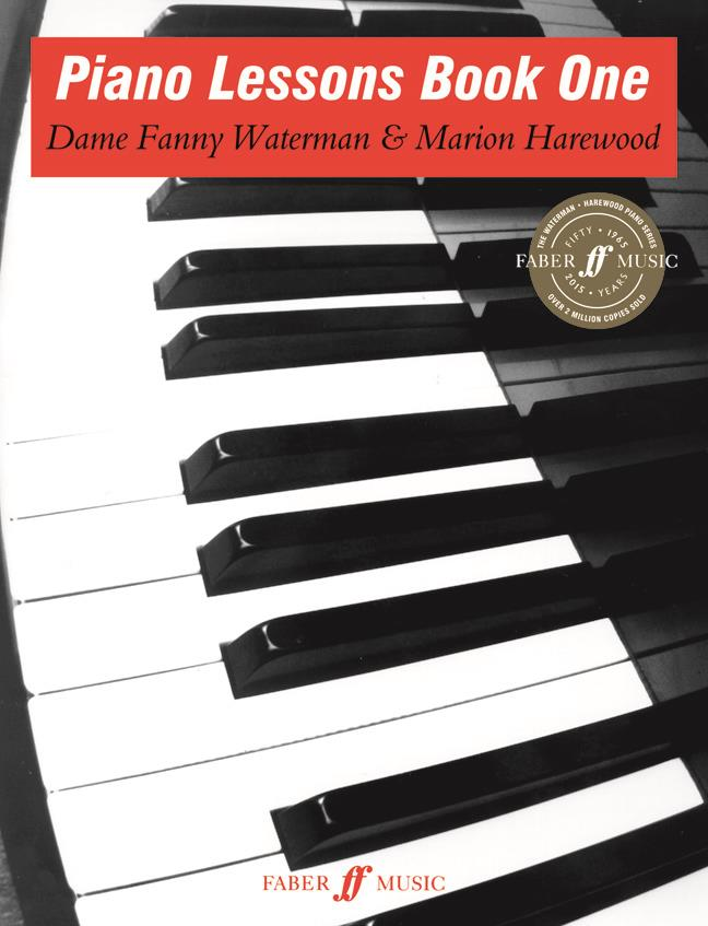 Piano Lessons Book One Waterman and Harewood Faber Music 0571500242