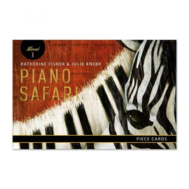 Piano Safari Piece Cards Level 1, 9781470612504