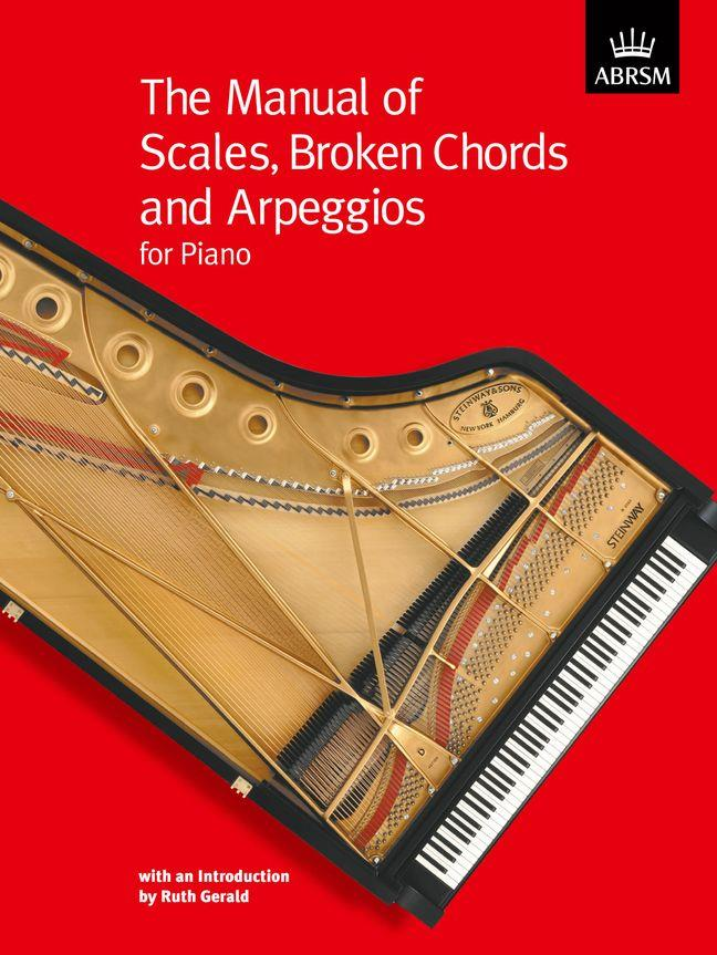 Manual of Scales Broken Chords & Arpeggios Piano ABRSM 9781860961120