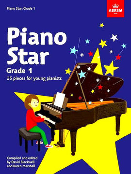 Piano Star Grade 1 ABRSM David Blackwell and Karen Marshall 9781786011060