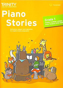 Trinity Piano Stories Grade 1 2018-2020 + online TCL018151 9780857366191