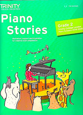 Trinity Piano Stories Grade 2 2018-2020 + online TCL018243 9780857367754