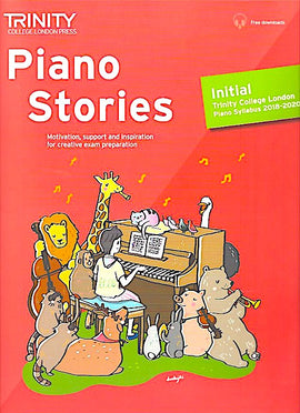 Trinity Piano Stories Initial 2018-2020 + online TCL018144 9780857366184