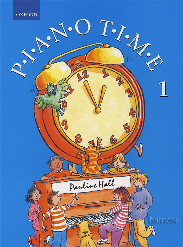 Piano Time 1 Pauline Hall Sheet Music Tutor Book Learn how to play Piano