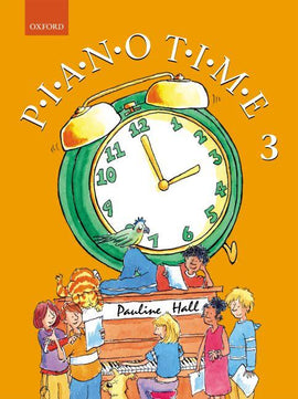Piano Time 3 Pauline Hall Piano Tutor Book 9780193727885