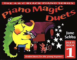 Piano Magic Duets Book 1 Jane Sebba The Grand Waltz Duet ABRSM Initial Grade