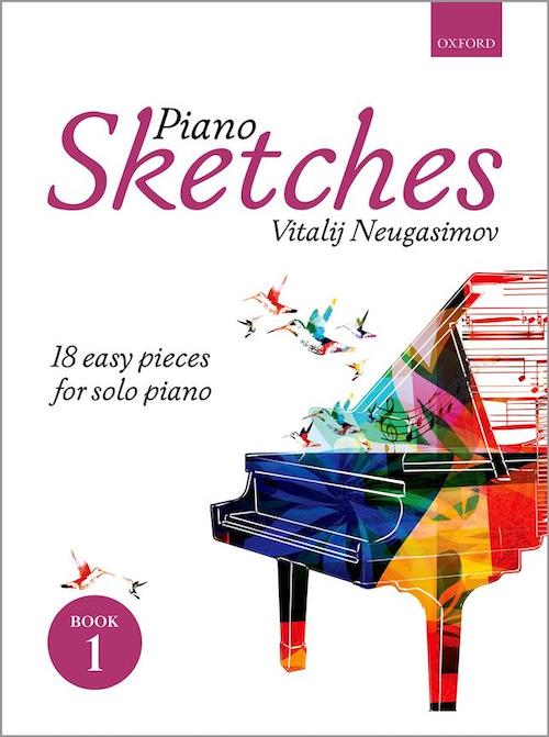 Piano Sketches Book 1 Vitalij Neugasimov 18 easy pieces for solo piano