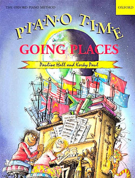 Piano Time Going Places Pauline Hall Alan Haughton Treading Carefully ABRSM Initial