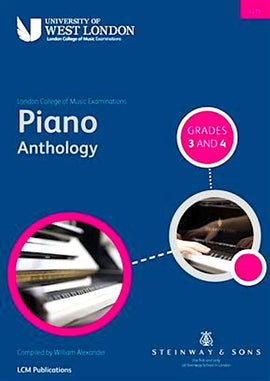 LCM Piano Anthology Grades 3 and 4 (2015 onwards) 9790570121519