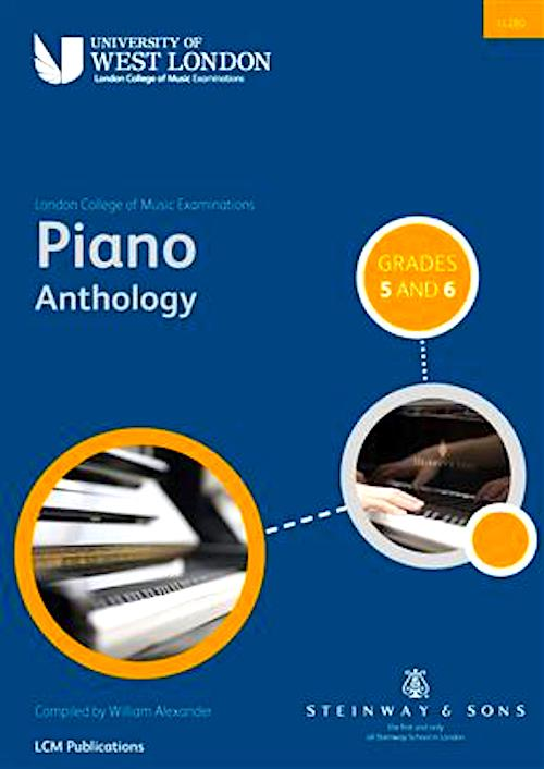 LCM Piano Anthology Grades 5 and 6 (2015 onwards) 9790570121526