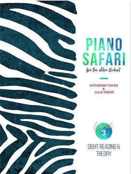 PIANO SAFARI OLDER STUDENT LEVEL 3 SIGHT READING & THEORY 1470613425