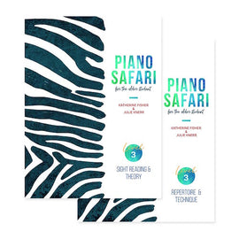 PIANO SAFARI OLDER STUDENT PACK LEVEL 3 1470613433