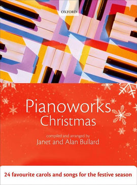Pianoworks Christmas Alan Bullard Piano Xmas Book with CD