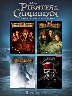 Pirates of the Caribbean  Easy Piano Solo Collection  9781495075223