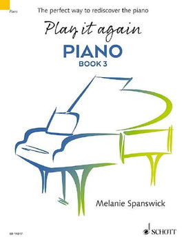 Play It Again Piano Book 3 Melanie Spanswick ED 14017