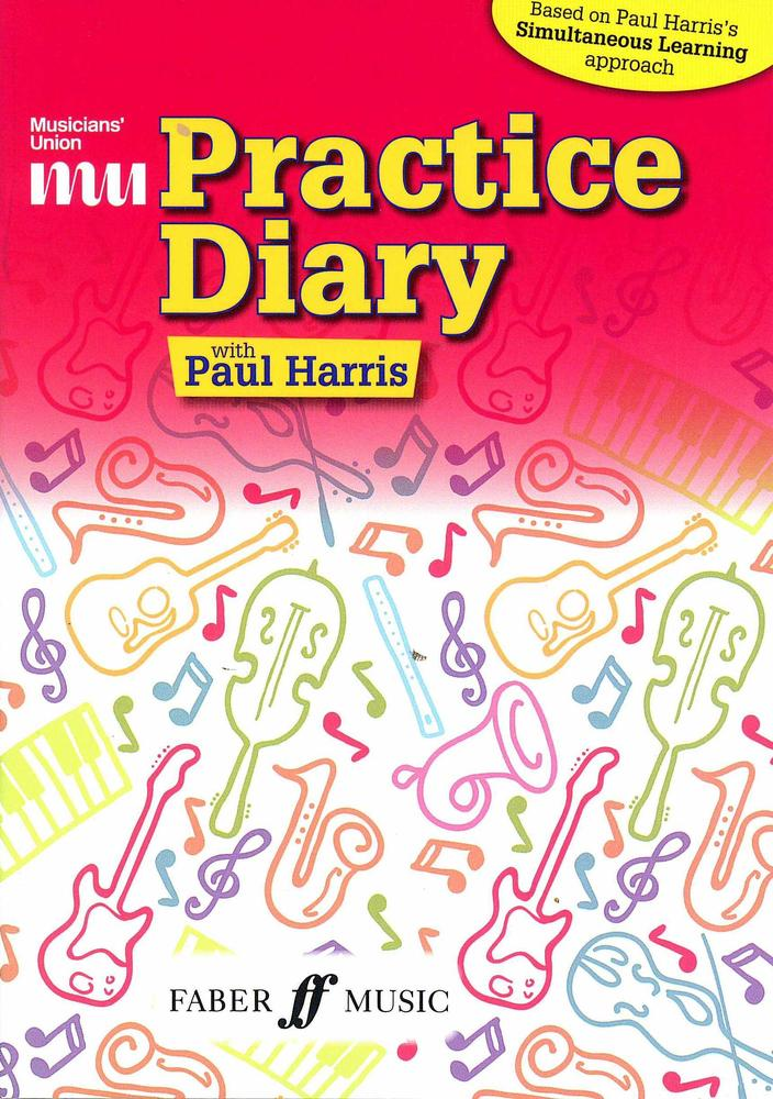 Musicians Union Practice Diary with Paul Harris Faber Music
