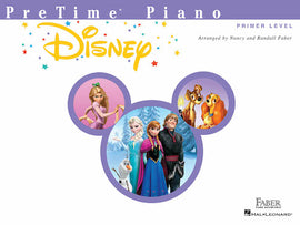 PreTime Piano Disney Primer Level Nancy Faber HL00275426