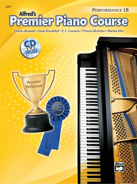 Alfred's Premier Piano Course Performance 1B Book + CD 22172