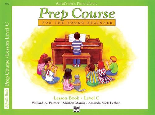 Alfred's Basic Piano Library Prep Course Lesson C 3130