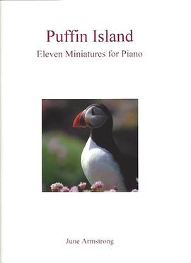 Puffin Island, June Armstrong, 11 Miniatures for Piano 9790900223135