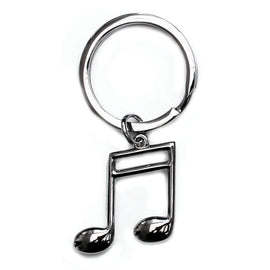 Keyring Metal Semiquaver (Beamed Semiquavers)