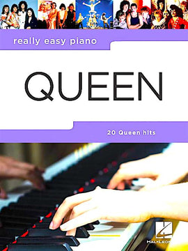 Really Easy Piano Queen 20 Hit Songs Songbook HL00291022