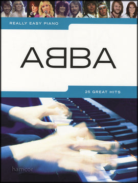 Really Easy Piano, 19 ABBA Favourites, Music Piano Songbook 9781844495696