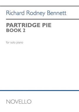 Partridge Pie Book 2 for Piano R.R.Bennett Novello 12 Days of Christmas