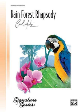 Rain Forest Rhapsody Carol Matz Piano Sheet Music Signature Series 30589